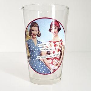 Decorative Cocktail Glass